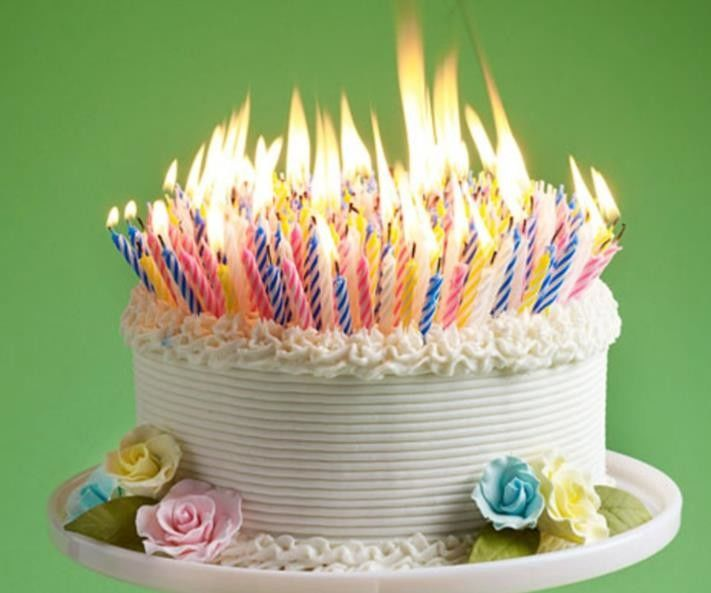 Multi Color Spiral Birthday Candles 100% Paraffin Wax , Party Strip Cake Candles